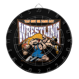 Tap Out Wrestlers Dart Boards