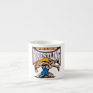 Tap Out Wrestlers Espresso Mug