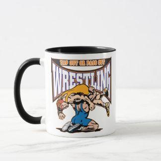 Tap Out Wrestlers Mug
