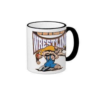 Tap Out Wrestlers Ringer Mug
