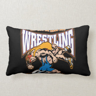 Tap Out Wrestlers Throw Pillows