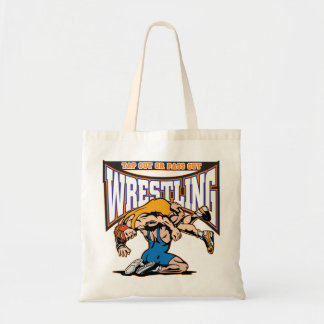 Tap Out Wrestlers Budget Tote Bag