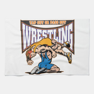 Tap Out Wrestlers Towel