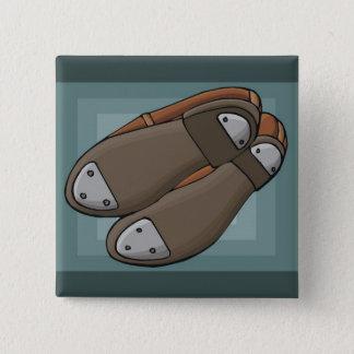 Tap Shoes 15 Cm Square Badge
