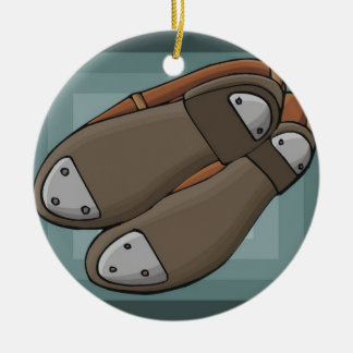 Tap Shoes Christmas Ornament
