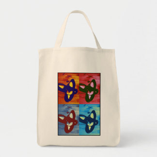 Tap Shoes Pop Art Tote Bag
