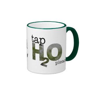 tap water ringer coffee mug