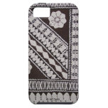 Tapa Cloth iPhone 5 Cases