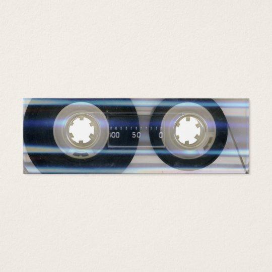 Tape Cassette Business Card