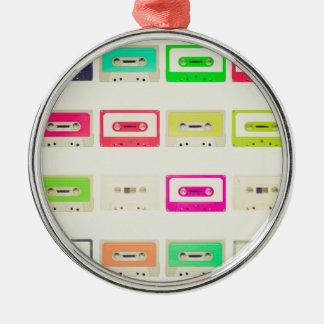 Tape cassette christmas tree ornament