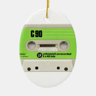 Tape cassette christmas tree ornaments