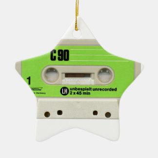 tape cassette christmas ornament