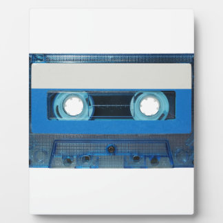 Tape cassette transparent background plaque