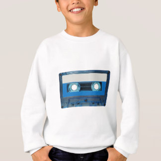 Tape cassette transparent background sweatshirt