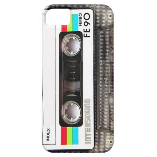 Tape Deck iPhone 5 Cases