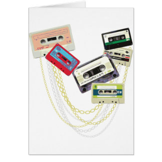 tape decks with bling cards