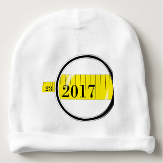 Tape Measure 2017 Baby Beanie