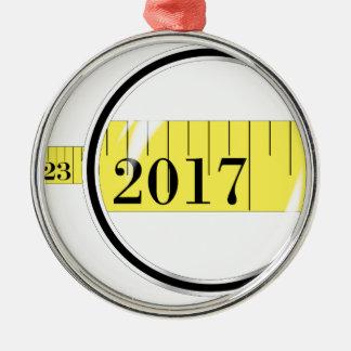 Tape Measure 2017 Christmas Ornament