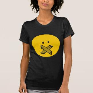 Taped Mouth Emoji T-Shirt