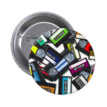 Tapes Pinback Buttons