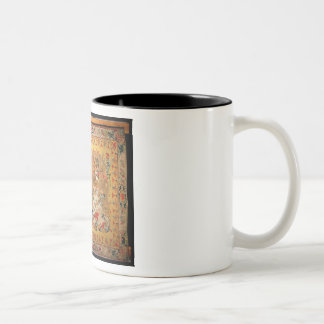 Tapestry, 1720s (textile) Two-Tone coffee mug