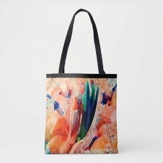 Tapestry Flower Design©2016CaroleTomlinson Tote Bag
