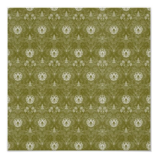 Tapestry ~ Gift Wrapping Paper 13.25x13.25 Posters