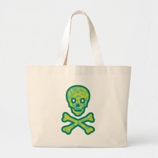 Tapestry Head Green Jumbo Tote Bag