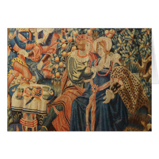 Tapestry of the Parable of the Prodigal Son Greeting Cards