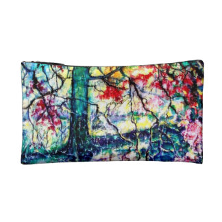 Tapestry of the Woods Makeup Bags