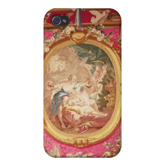 Tapestry panel depicting Cupid and Psyche Cases For iPhone 4