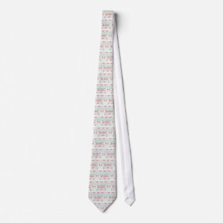 Tapestry Style Merry Christmas Tie