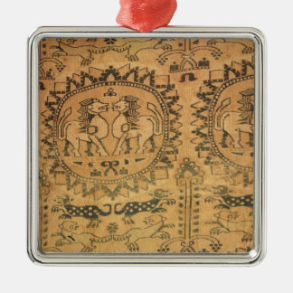 Tapestry, Western Asian,  7th-8th century Christmas Ornament