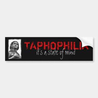 Taphophilia Bumper Sticker