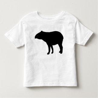 Tapir silhouette t-shirts
