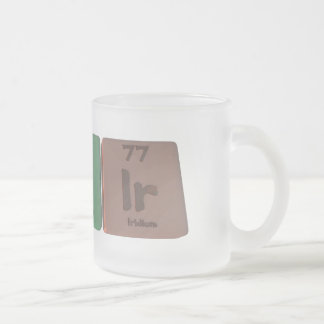 Tapir-Ta-P-Ir-Tantalum-Phosphorus-Iridium.png Frosted Glass Coffee Mug