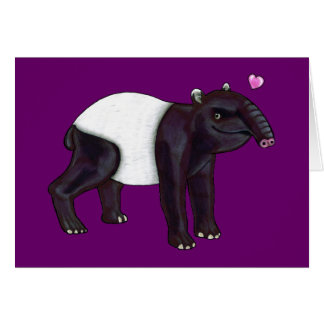 Tapir Wants Hugges Card