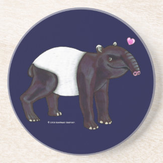 Tapir Wants Hugges Coaster