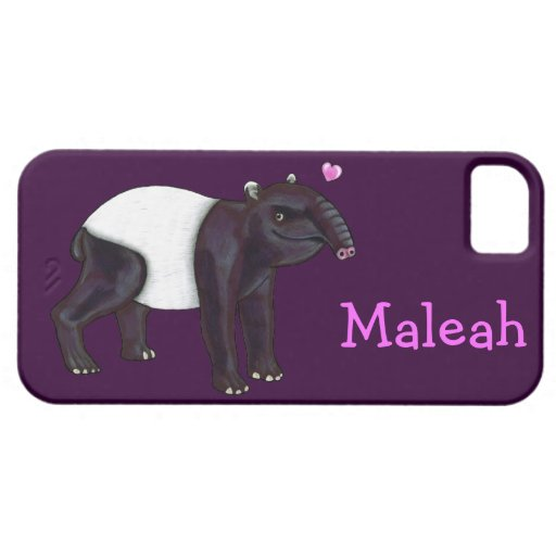 Tapir Wants Hugges iPhone  5 Casemate Case iPhone 5 Cover