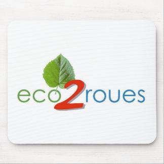 Tapis de souris logo-eco 2roues