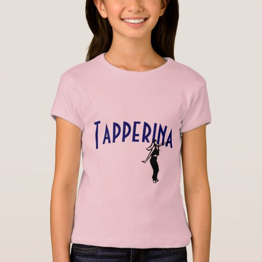 Tapperina Embroidered T-Shirt (Blue)
