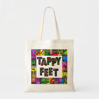 Tappy Feet - Tap Dance Tote Budget Tote Bag