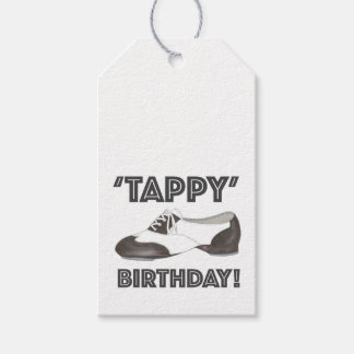 Tappy Happy Birthday Dance Teacher Tap Shoe Dancer Gift Tags