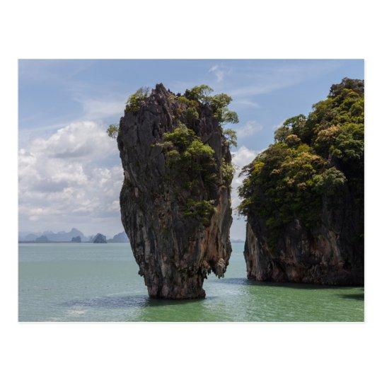 Tapu Island Phuket Thailand Postcard