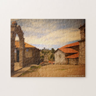 Taquile Main Square Jigsaw Puzzle