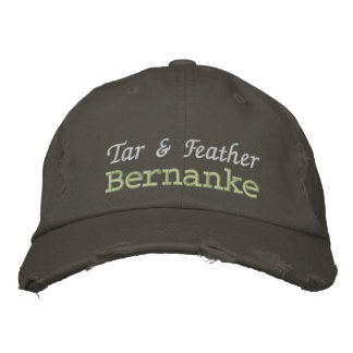 Tar & Feather Bernanke Embroidered Hats