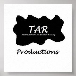 TAR Productions Mega  LOGO Poster