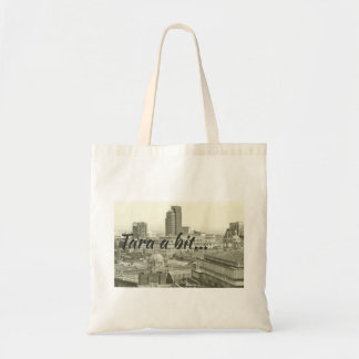 Tara a Bit tote bag with Birmingham cityscape