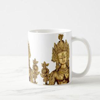Tara Buddha Buddhist Goddess Yoga Tibet Art Peace Coffee Mug