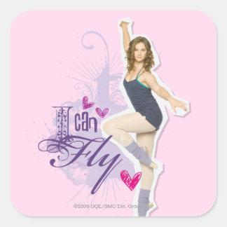 Tara: I Can Fly Square Sticker